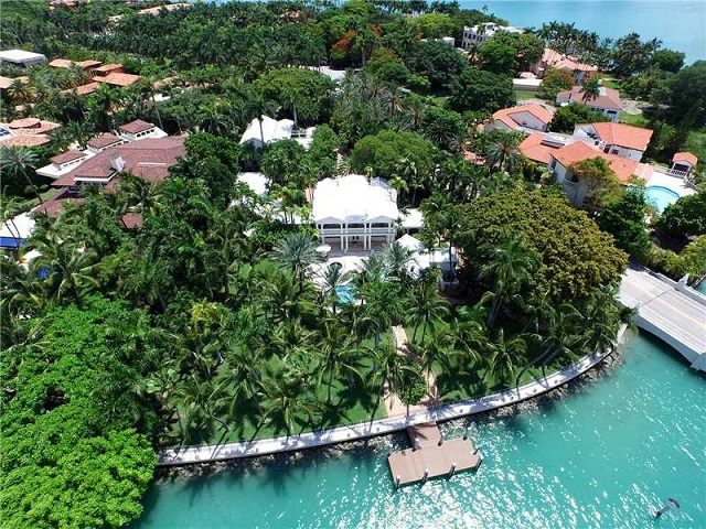 Most expensive homes in the south zillow porchlight for Star island miami houses