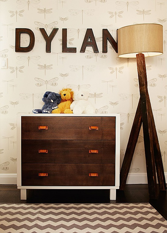 A basic dresser is stylish and functional. Design by Niche Interiors.