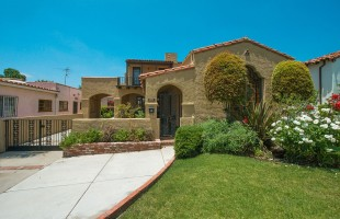 The walkable location was a major selling point for this home in Los Angeles, said agent Jimmy Martinez.