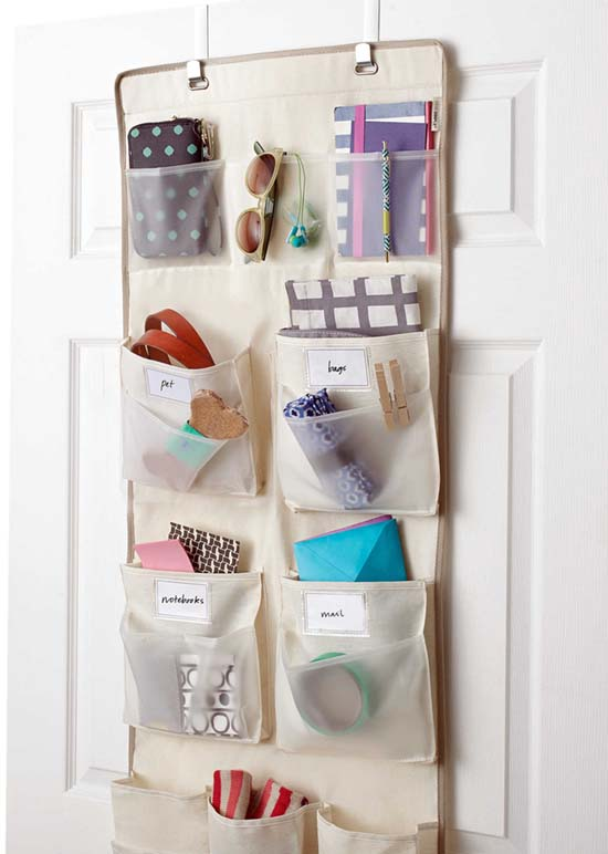 Over-the-Door Organizer, Bed Bath & Beyond, $20