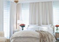 Master bedroom in the &quot;Caron Street&quot; residence by Zillow Digs designer Jamie Herzlinger.