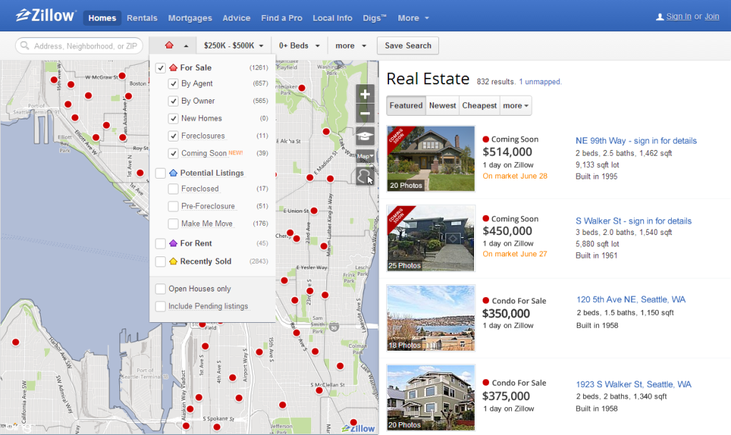 Zillow Launches Coming Soon Search For And Find Homes