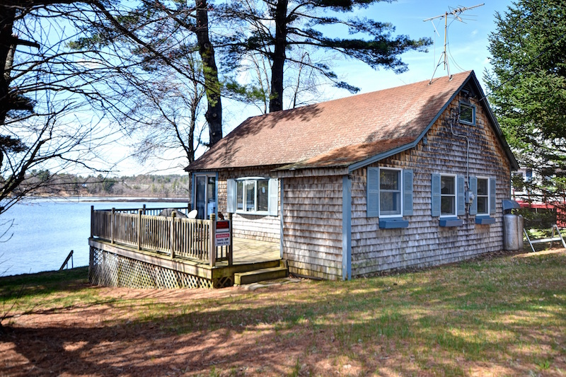 teensy waterfront homes for sale zillow porchlight ForLake Cabins For Rent In Massachusetts