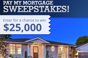 Enter for a Chance to Win $25,000 in Zillow's Pay My Mortgage Sweepstakes