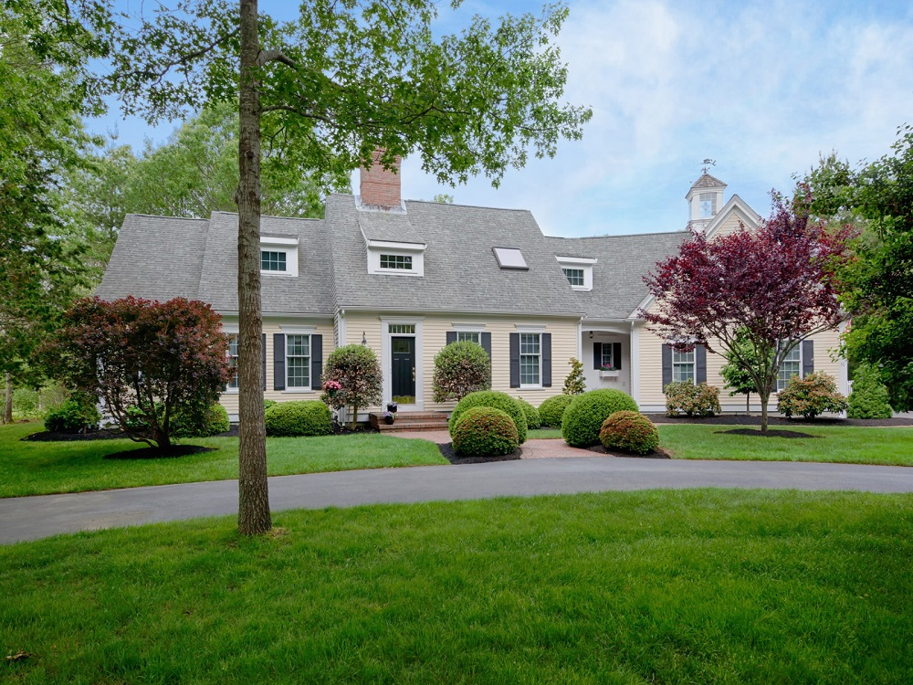 House of the week a modern day cape cod on the namesake for Cape style homes for sale