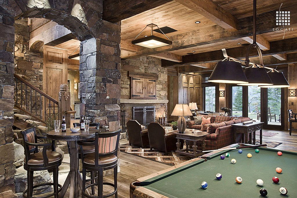 Family Room Sports Theme Interior Design Ideas