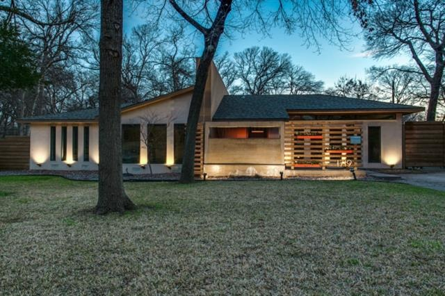 10 mid century modern listings just in time for 39 mad men for Modern houses for sale in dallas