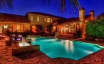 David Robinson's pool