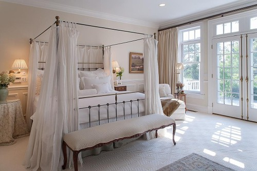 Zillow's Dig This Trend: French Flair all white bedroom