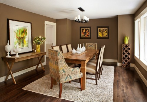 Dining room by Brock Design Group