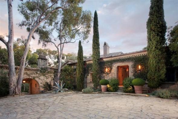 Ellen DeGeneres' Montecito estate.