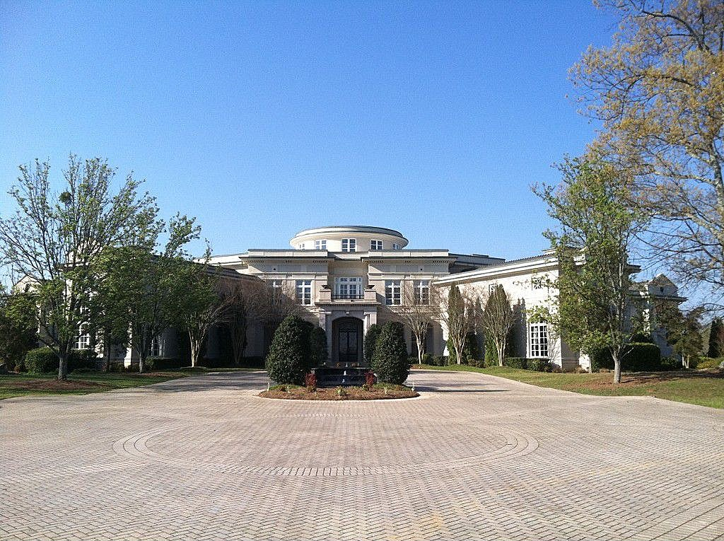 Rap king has big plans for holyfield s former mansion for New home cost