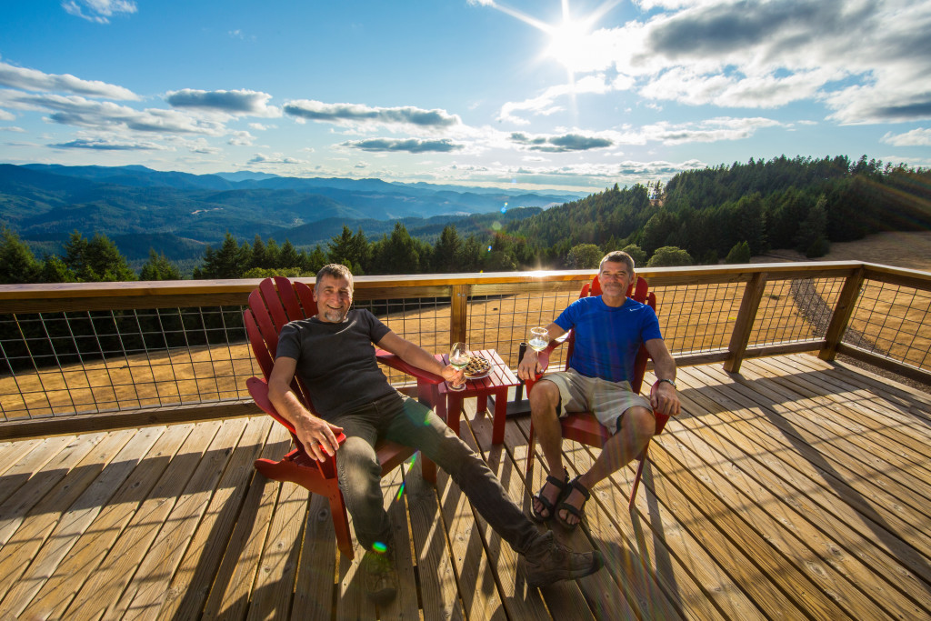 Putting down roots 40 feet up life in a fire lookout for Tiny house zillow