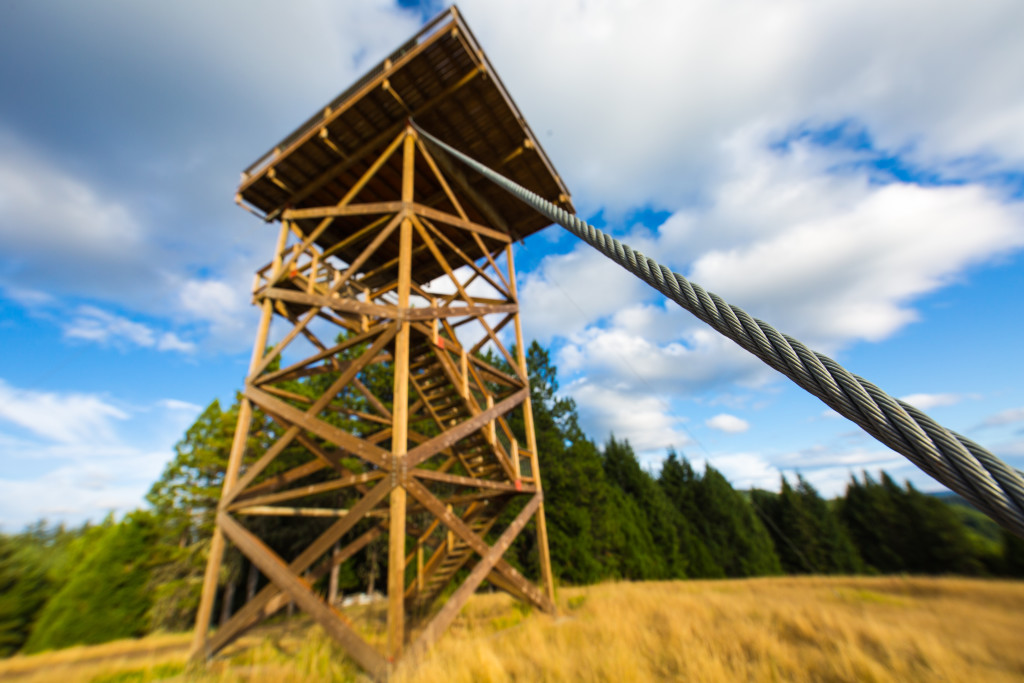 Putting down roots 40 feet up life in a fire lookout for Lookout tower plans