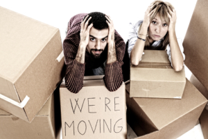 Frustrated movers
