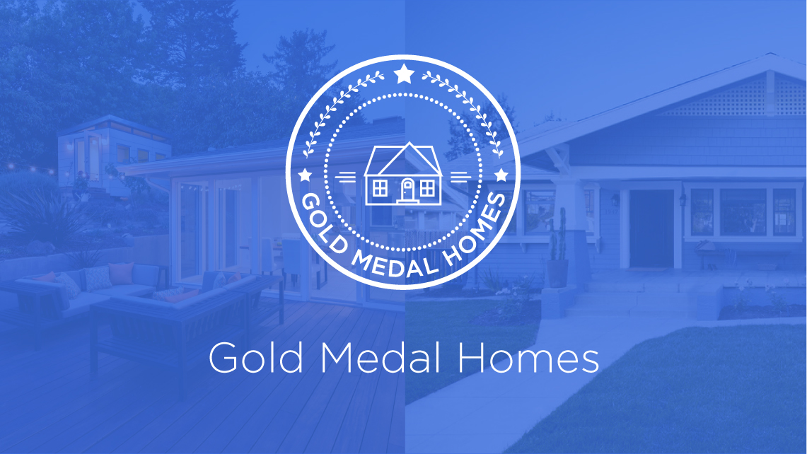 Gold Medal Homes Logo_Gold Medal Home - Porchlight