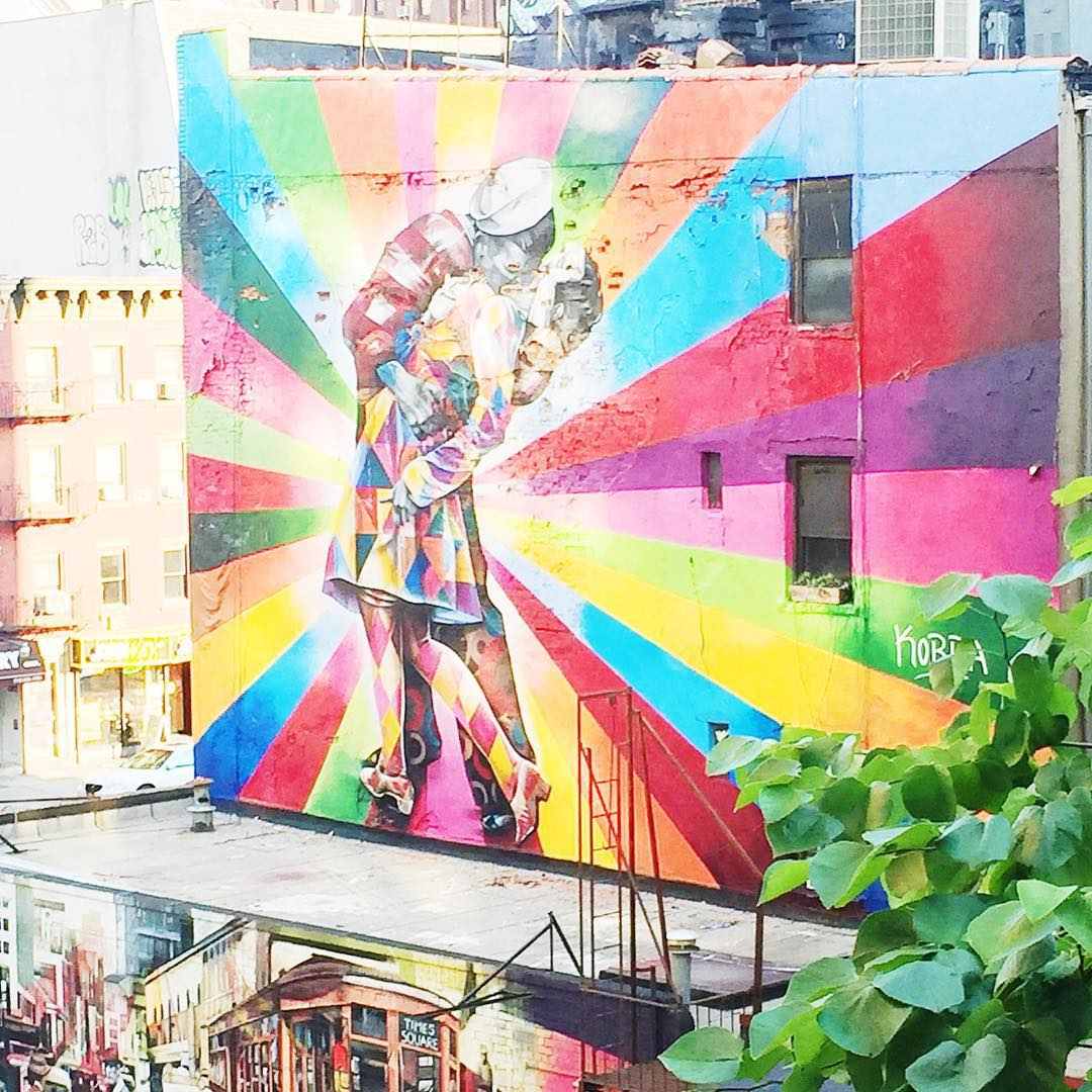 A View From High line Park. Source: Samantha Baculi of Bursts of Samm