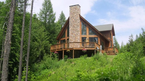 Home Near Glacier National Park