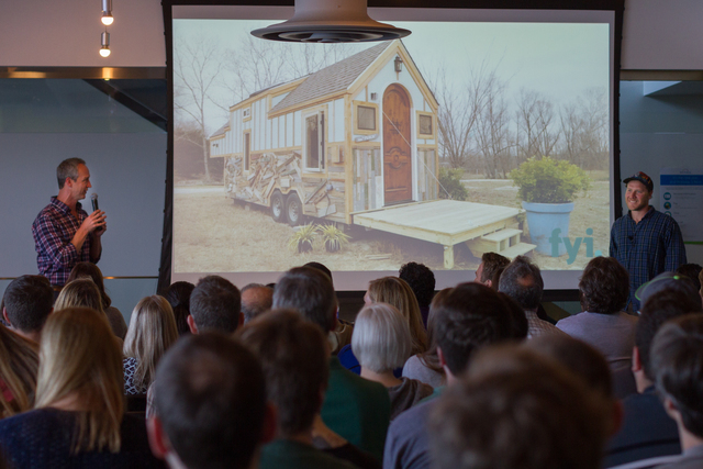 Zillow speaker series john weisbarth zack giffin tiny for Tiny house nation where are they now