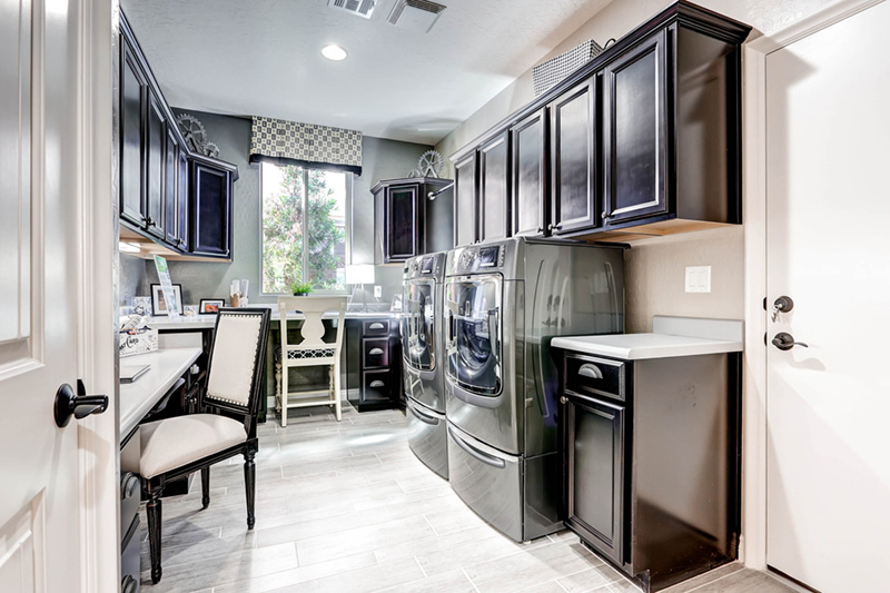 Front-loading washing machines Courtesy of Zillow Digs.