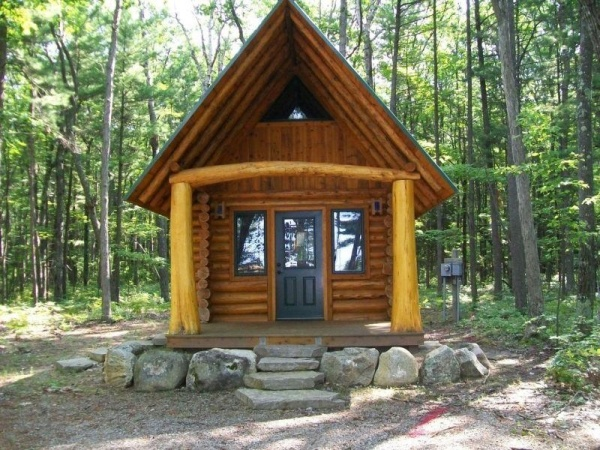 Rustic to ritzy homes under 500 square feet zillow for One room log cabin for sale