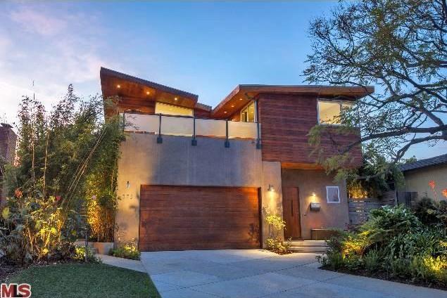 Hewitt's new modern home.