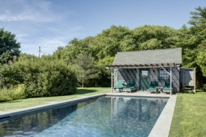 Julianne Moore's pool
