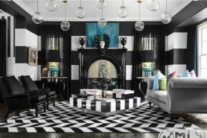 Kourtney Kardashian great room