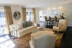 Leighton Meester's living room