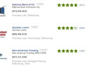 Lender reviews screenshot