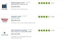 Lender reviews screenshot