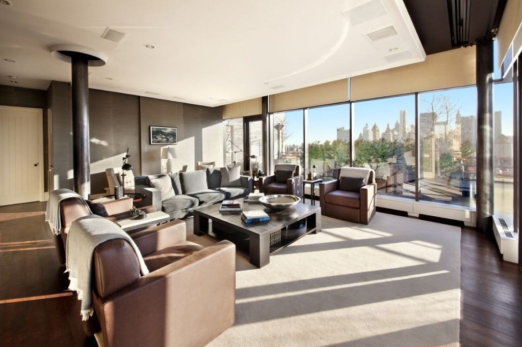 Jon bon jovi selling swanky nyc penthouse for 42 million for Nyc duplex for sale