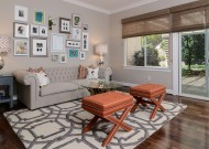 Living room by Kerrie Kelly Design Lab