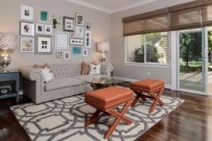 Living room by Kerrie Kelly Design Lab