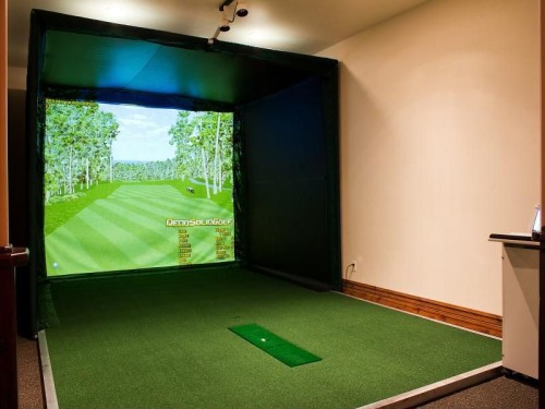 Park City golf simulator