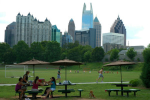 Piedmont Park. Source: Clinton Steeds via Flickr Creative Commons