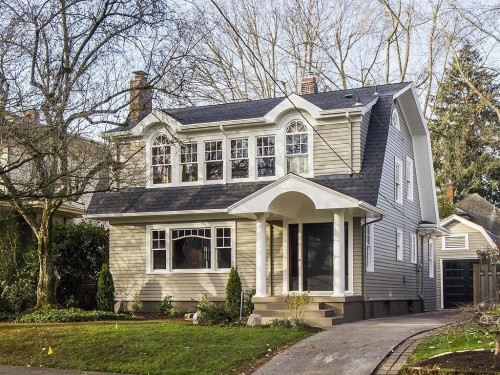 Historic or modern which home would you choose zillow for Dutch colonial house for sale
