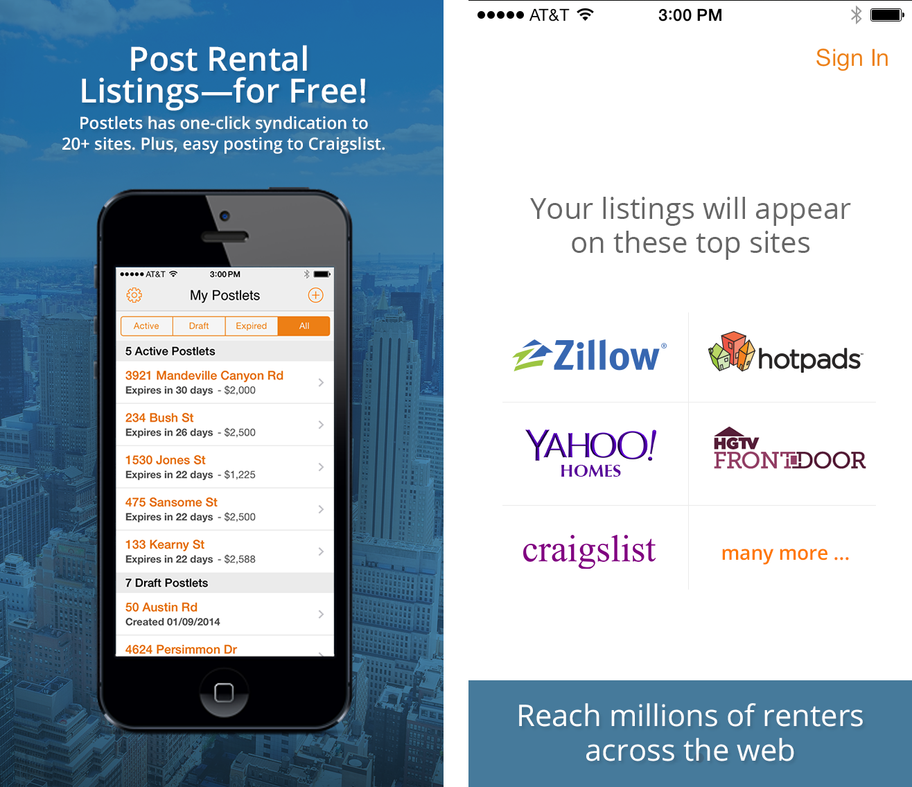 Zillow Rental Search: Free Postlets Listing App Helps Landlords On The Go