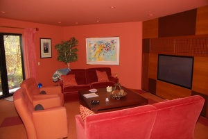 Red and orange room