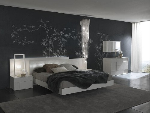 Romantic Bedroom Contemporary