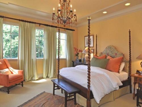 Romantic Bedroom Peach