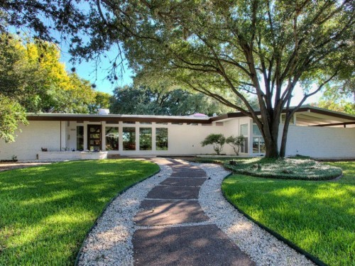 For sale midcentury homes with contemporary comforts for Contemporary houses in dallas for sale