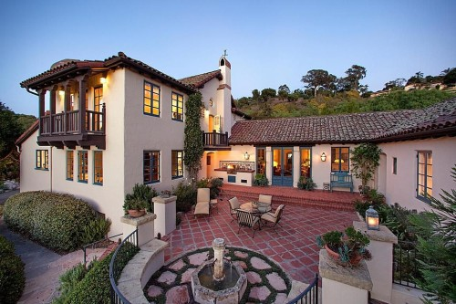Spanish style homes for american dream builders fans for Santa barbara style house
