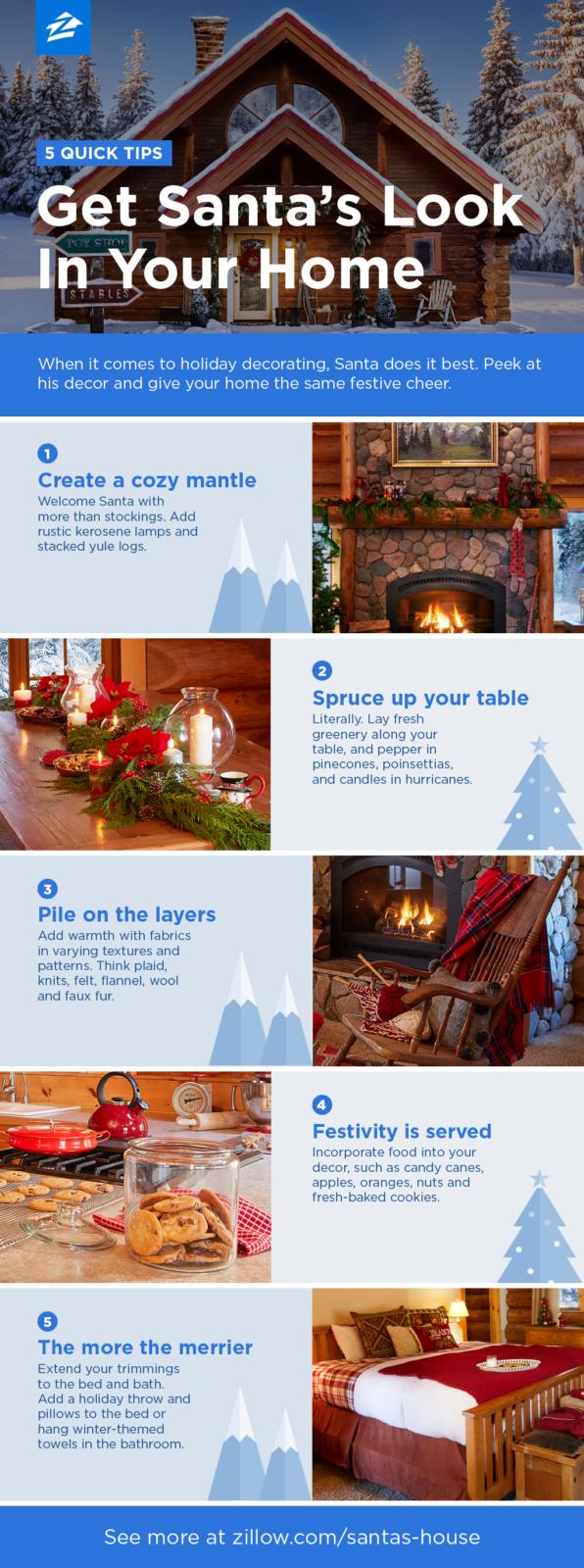 Get Santa's Look In Your Home