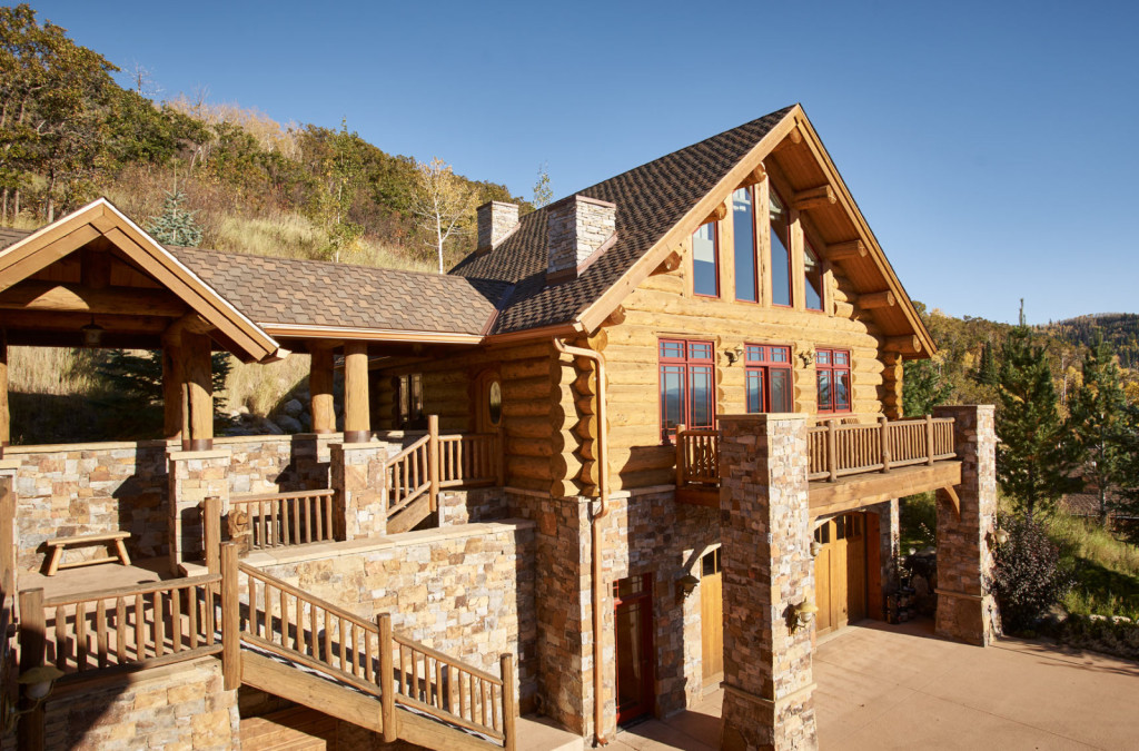 House Of The Week Ski Into This Log Home And Catch The
