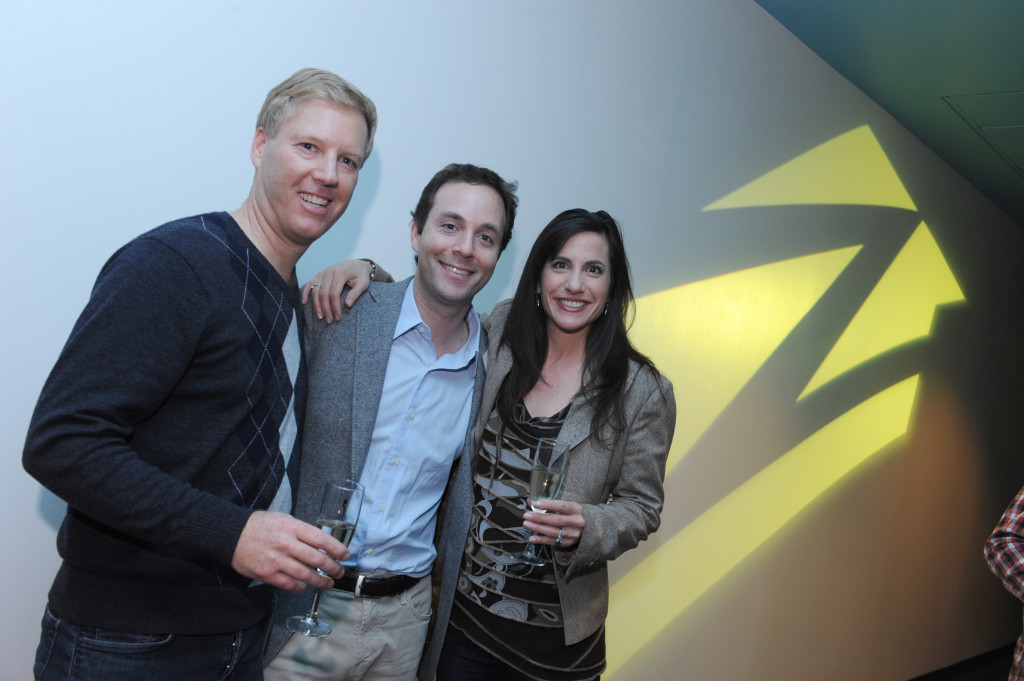 Zillow CEO Spencer Rascoff with Zillow Agent Advisory Board member Eric Boyenga and his wife/team partner, Janelle