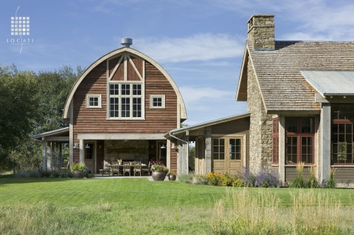 The barn look creating a rustic feel in your contemporary for Home design zillow
