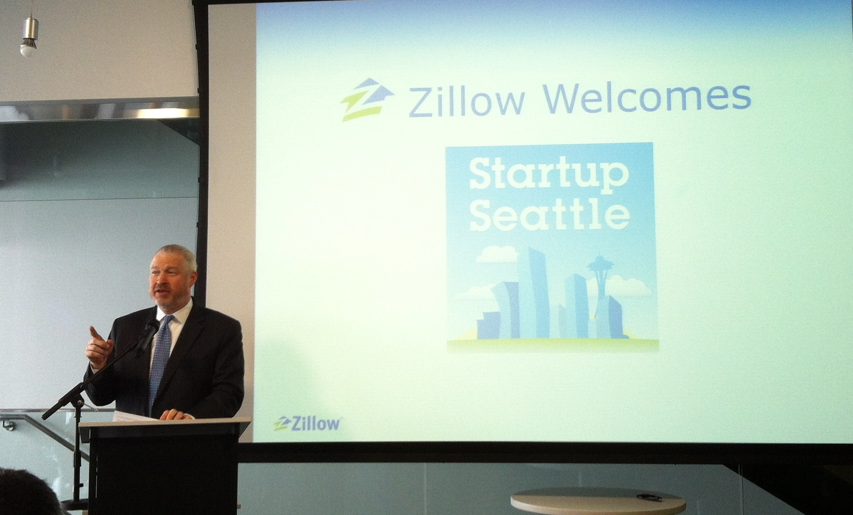 Startup Seattle press conference - blog post