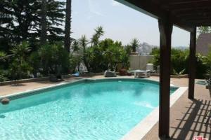 Taraji Henson's pool