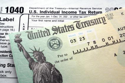 Tax return check